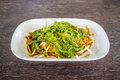 Seaweed salad japanese cuisine Stock Photography