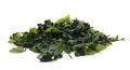 Seaweed wakame ( lat. Undaria pinnatifida) Royalty Free Stock Photo