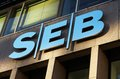 Seb bank office at sveavagen hamngatan at sergel s square in stockholm sweden Stock Photography