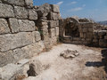 Sebastia ancient israel ruins and excavations in the palestinian territories smaria Stock Photo