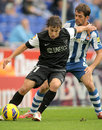 Sebastian Fernandez of Malaga CF Stock Photography