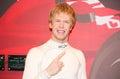 Sebastian Vettel wax figure Royalty Free Stock Photo