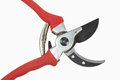 Secateurs for the garden works Stock Images