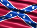 Second Confederate Navy Jack, 1863 to 1865 Stock Image