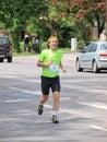 Second lublin marathon lublin poland the th may Stock Photos