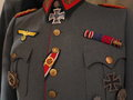 Second World War German formal military uniform Royalty Free Stock Photo