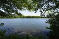 Secret Fishing Spot at Memorial Lake Royalty Free Stock Photo