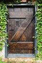 Secret Garden Door Royalty Free Stock Photo