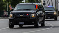Secret Service Vehicle Royalty Free Stock Photo
