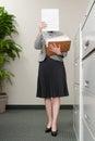 Secretary filing Royalty Free Stock Photo