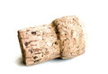 Sect cork isolated on white bg Royalty Free Stock Images