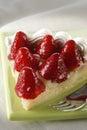 Secteur de fraise Images stock