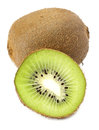 Sectioned kiwi Stock Images