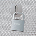 Secure locker Stock Image