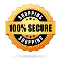 Secure shopping Royalty Free Stock Photo