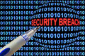 Security Breach Symbolism Royalty Free Stock Images