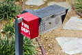 Security Call Box Royalty Free Stock Photo