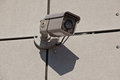 Security camera with infrared light Stock Photos