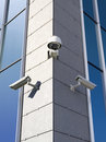 Security cameras Royalty Free Stock Photography