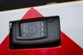 Security car camera automotive cctv Stock Images