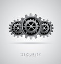 Security design Stock Photos