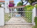 Security gates Royalty Free Stock Photo