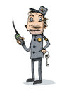 Security Guard. Caricature