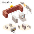 Security icon Royalty Free Stock Photo