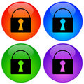 Security icons Royalty Free Stock Photo