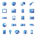 Security icons Stock Photo