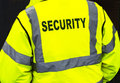 Security jacket closeup a of a Royalty Free Stock Photos