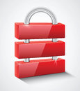 Security lock Royalty Free Stock Photos