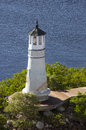 Seddon light no harbour island is a lighthouse on the pointe property of the house of the baileys along the channel on in Stock Photos