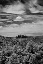 Sedona arizona black and white image of Stock Photo