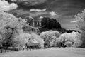 Sedona arizona black and white image of Stock Photos