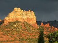 Sedona evening light Royalty Free Stock Photo