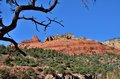 Sedona a spectacular view of red rock of arizona Royalty Free Stock Photo