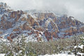 Sedona Winter Stock Image