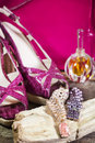 Seduction female accessories Royalty Free Stock Images