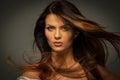 Seductive brunette woman Royalty Free Stock Photo