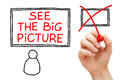 See The Big Picture Royalty Free Stock Image