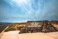 See mead national recreation area eingangszeichen Lizenzfreies Stockbild