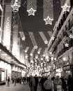 Seeing stars in sol over the marketplace madrid spain Royalty Free Stock Photos