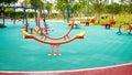 Seesaw On Playground