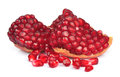 Segments of pomegranate Royalty Free Stock Photo