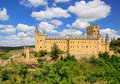 Segovia Alcazar Stock Photo