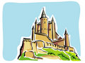Segovia (Alcazar) Royalty Free Stock Images