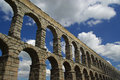 Segovia Aqueduct 01 Royalty Free Stock Photos