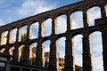 Segovia aqueduct Stock Photography