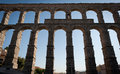 Segovia Aqueducts, Spain Royalty Free Stock Photography